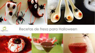Recetas de fresa para Halloween
