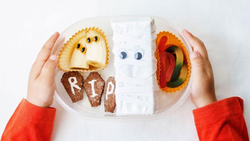 4 ideas de menú infantil para Halloween - Hogarmania
