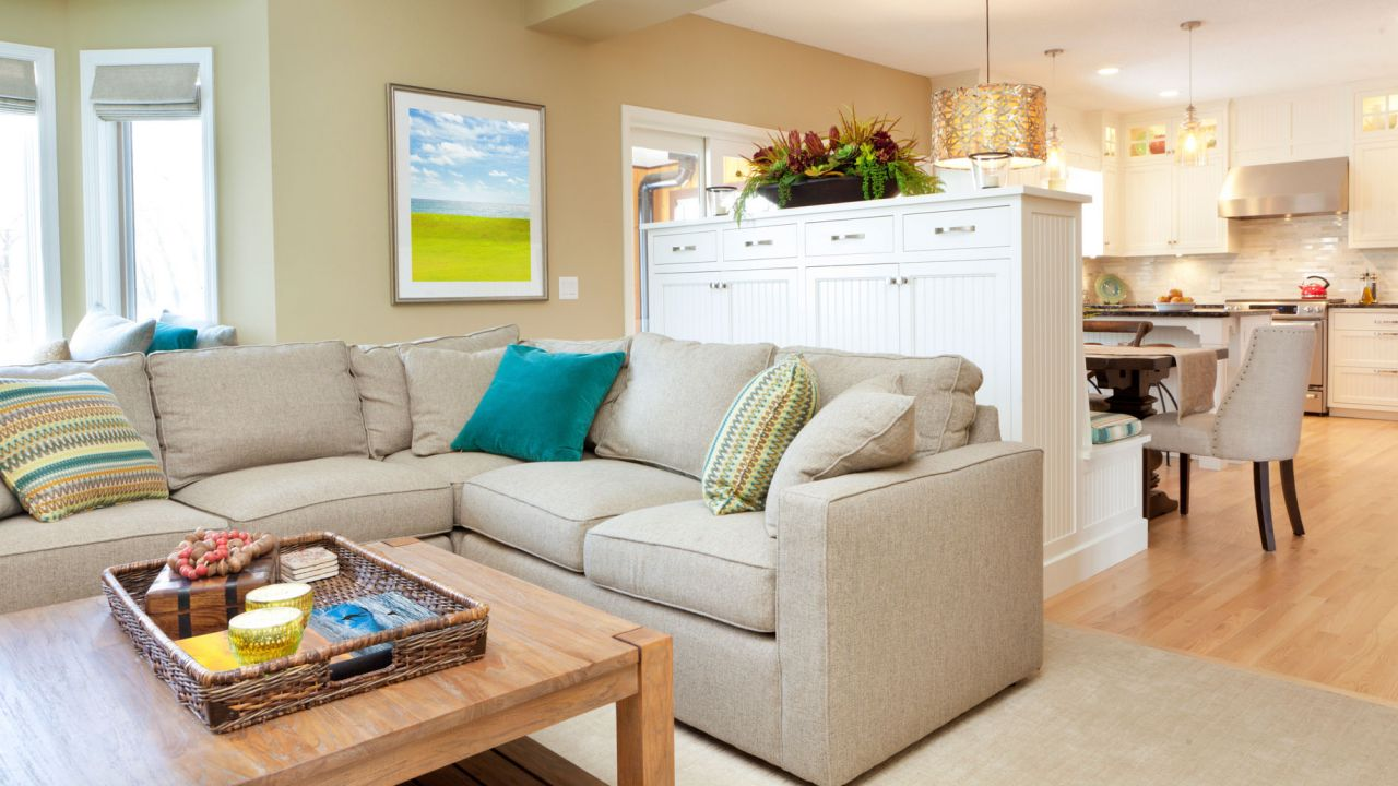 Ideas para decorar cocinas abiertas al salón - Muebles