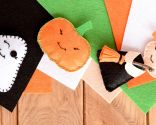 figuras fieltro halloween