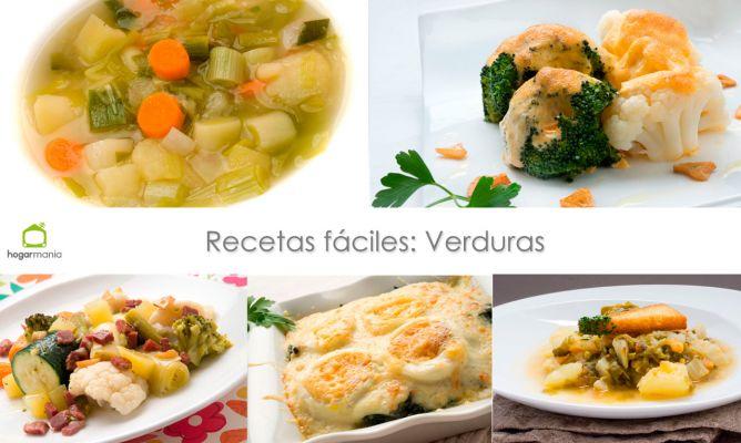 Recetas Fáciles Verduras Karlos Arguiñano