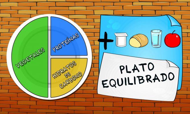 dieta con carbohidratos proteinas y lipidos