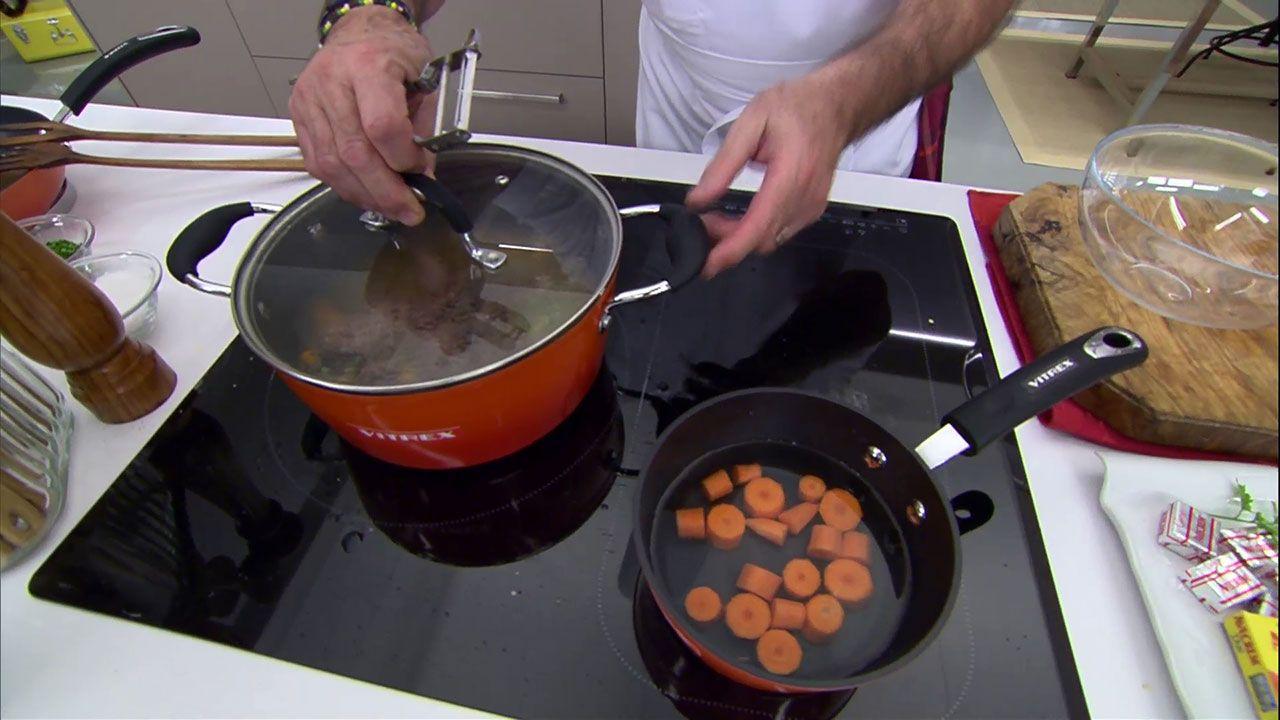 Carne guisada con patatas
