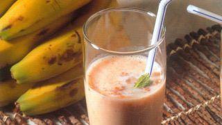 Batido de plátano apto para diabéticos