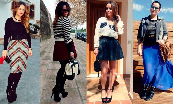 89ca6e18f7 Cómo elegir falda según tu cuerpo - Hogarmania