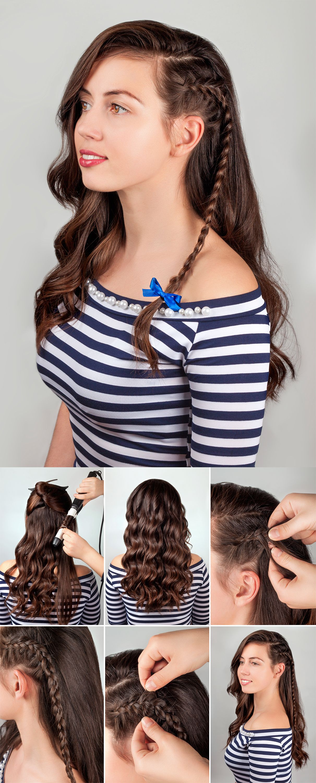 peinados con minilazo - trenza