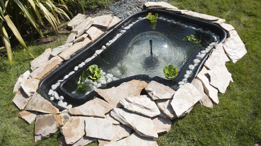 Estanque para jard n bricoman a for Como construir un estanque en el jardin