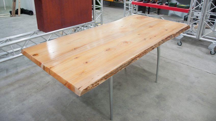 Mesa de madera mesa comedor madera mango luego vamos Como hacer un comedor
