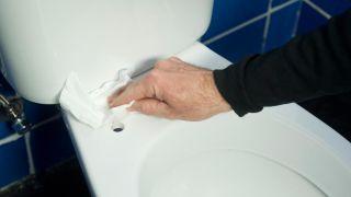 Cambiar tapa de inodoro