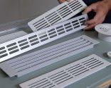 Colocar una rejilla de ventilación en un armario