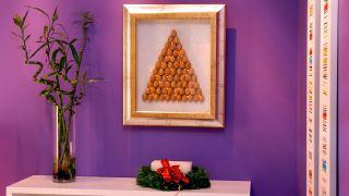 Árbol navideño para la pared