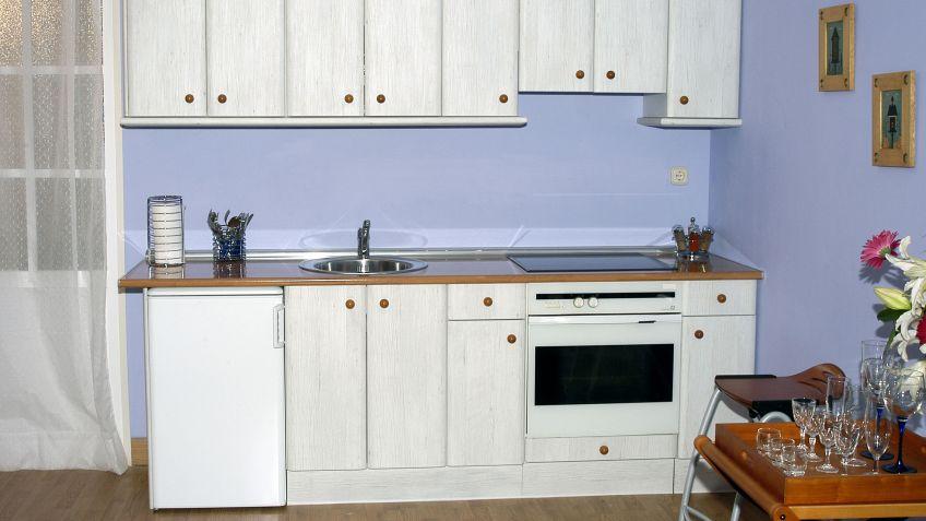 Muy dulces modulos de muebles de cocina medidas for Modulos para cocina