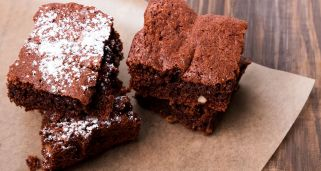 Brownie de chocolate en el microondas