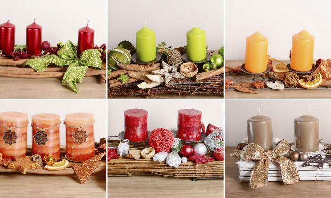 Centros de mesa navide os para mesas rectangulares for Como hacer arreglos de navidad