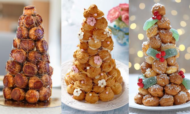 how to cook that mini croquembouche