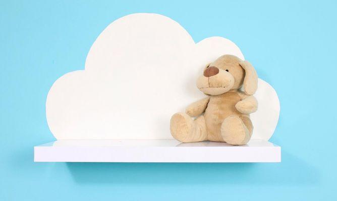 Cómo hacer una estantería con forma de nube