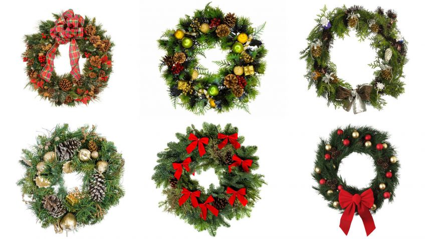 Coronas navideas clsicas Hogarmania
