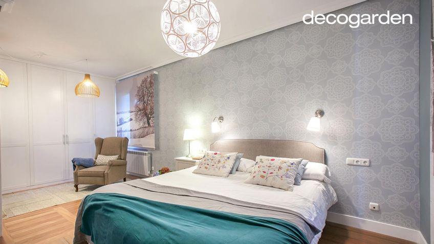 Decorar dormitorio amplio y cálido con vestidor - Decogarden