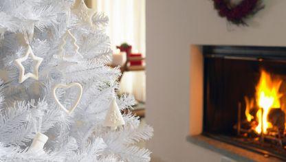 Rbol de navidad con ramas hogarmania - Como decorar mi arbol de navidad blanco ...