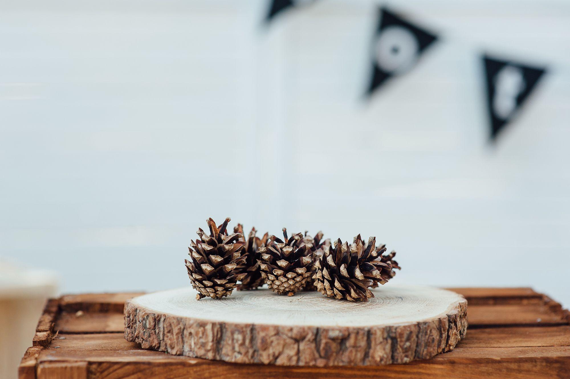 Ideas para decorar un dormitorio estilo n rdico hogarmania - Decorar pinas naturales ...