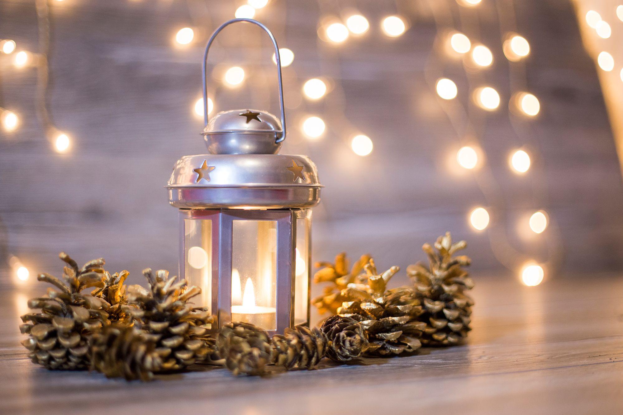 decorar dormitorio estilo nórdico - velas