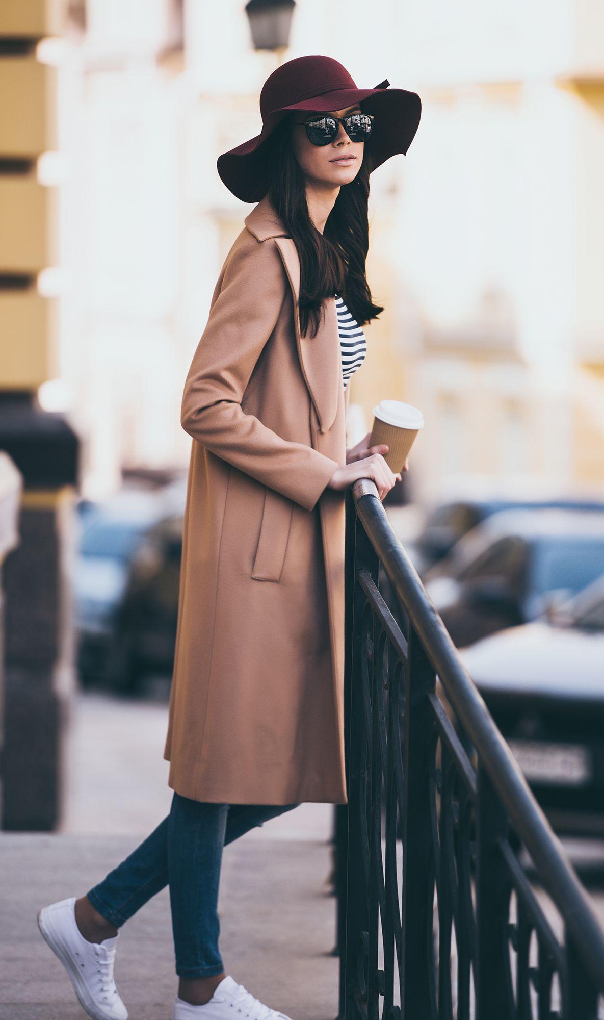Moda en abrigos largos