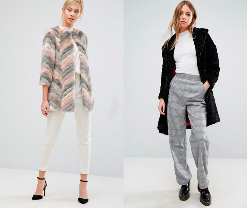moda invierno pelo - abrigos
