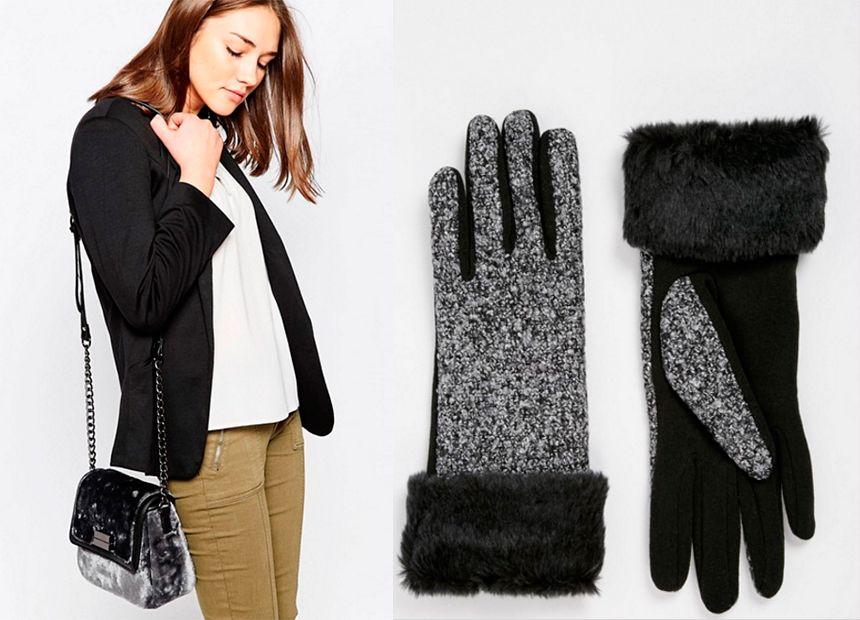 moda invierno pelo accesorios