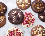 Monedas o bombones de chocolate para Navidad