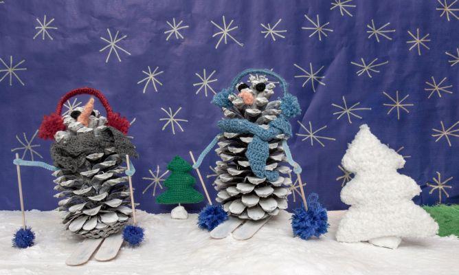 Muñeco De Nieve Con Piña Para Decorar En Navidad Hogarmania