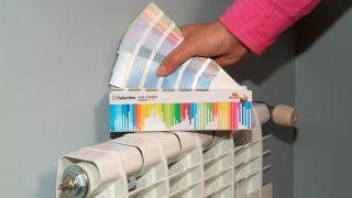 Pintar un radiador