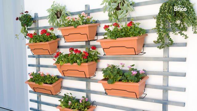 Ideas para hacer un jard n vertical hogarmania - Jardines verticales paso a paso ...