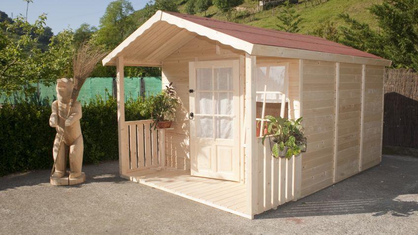 Como hacer una caseta con palets segn lo manitas que sea - Casetas jardin baratas ...