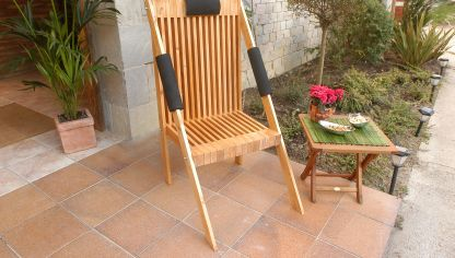 Restaurar una silla y convertirla en mecedora bricoman a - Mecedoras para jardin ...
