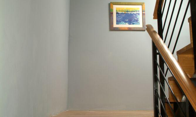 pintar pared de escalera bricoman a