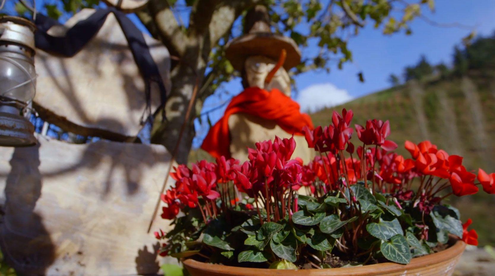 Hacer un muñeco de nieve de madera para decorar el jardín