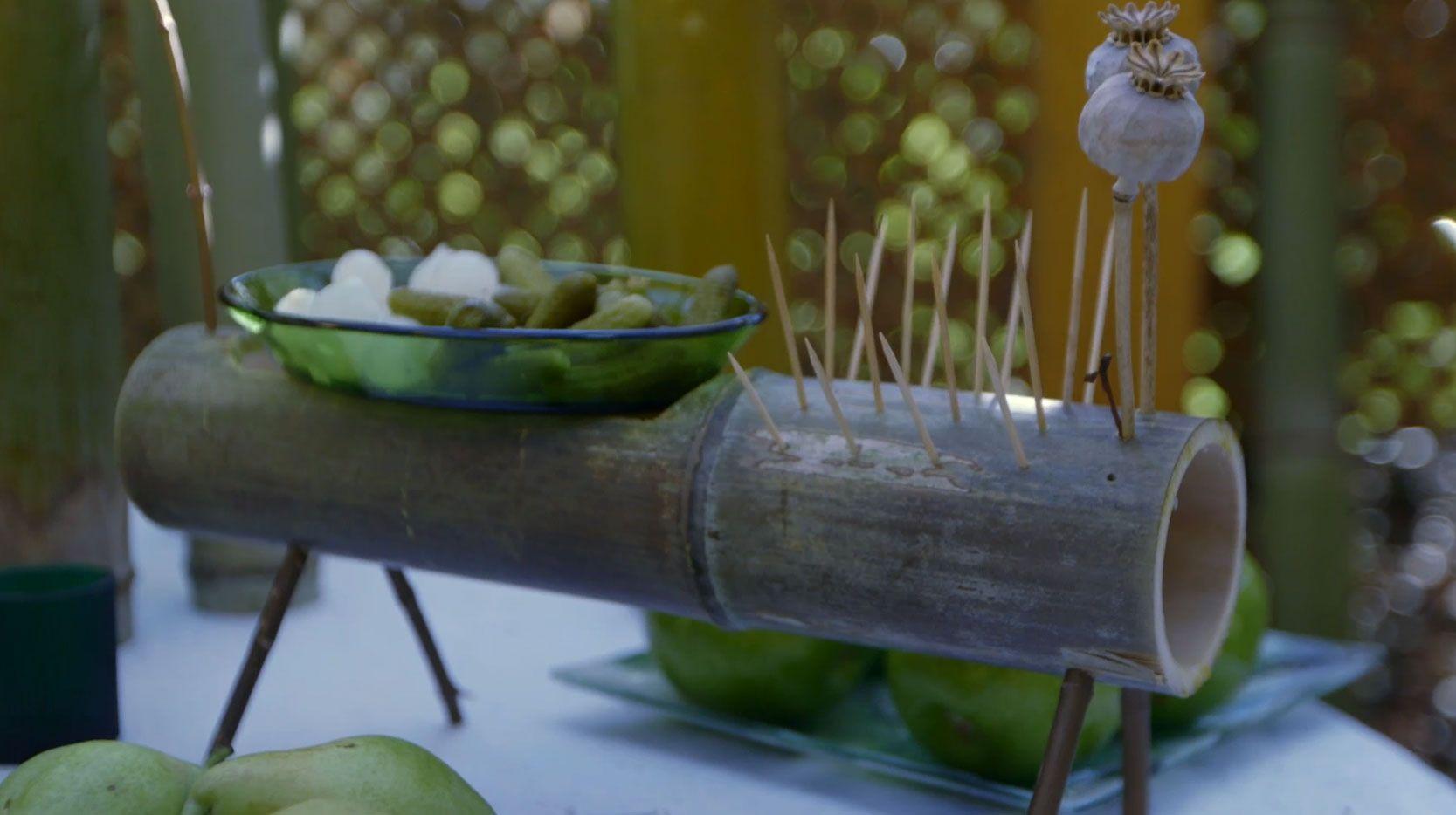 Tiestos y recipientes con tallos de bamb bricoman a - Bricomania jardineria ...