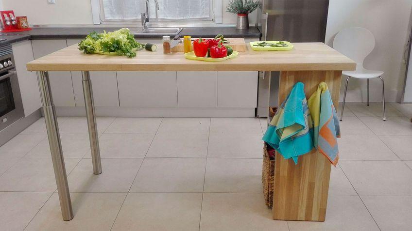 Cómo hacer una isla de cocina - Bricomanía
