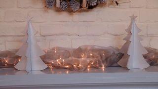 Pino navideño de madera