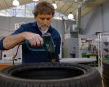Cómo hacer un puff con un neumático