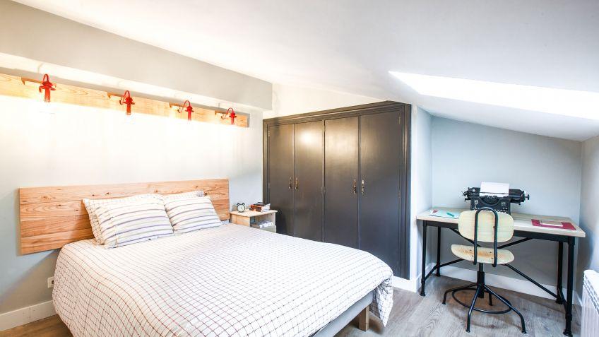 Dormitorio pequeño para estudiante - Decogarden