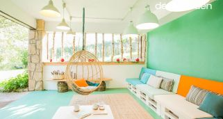 Decorar porche chill out fresco y luminoso