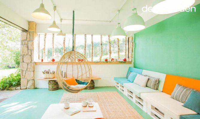 Decorar porche chill out fresco y luminoso decogarden - Decoracion chill out ...
