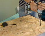Decorar un dormitorio práctico en una buhardilla