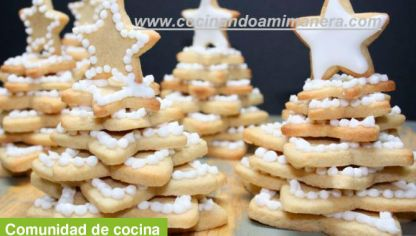 Merry Christmas con galletas - Luisa CCorrecher