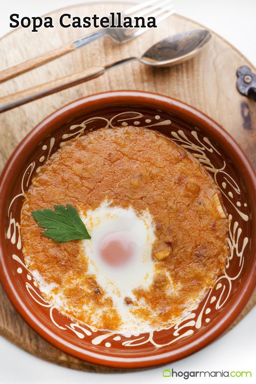 Sopa castellana tradicional