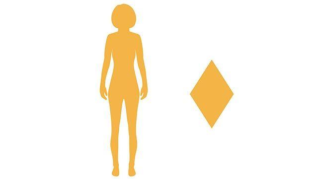 cuerpo rombo o diamante
