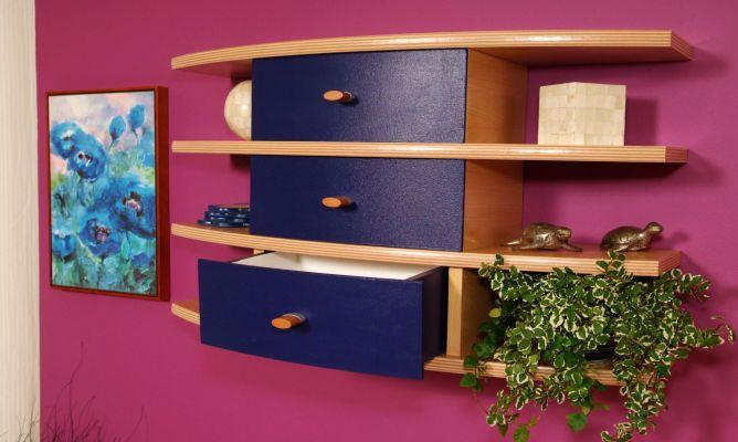 Mueble con cajones curvados bricoman a for Muebles bricomania