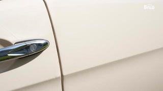 Eliminar rayón en carrocería de coche