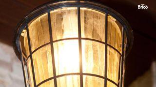 Casquillo de lámpara con sensor de luz